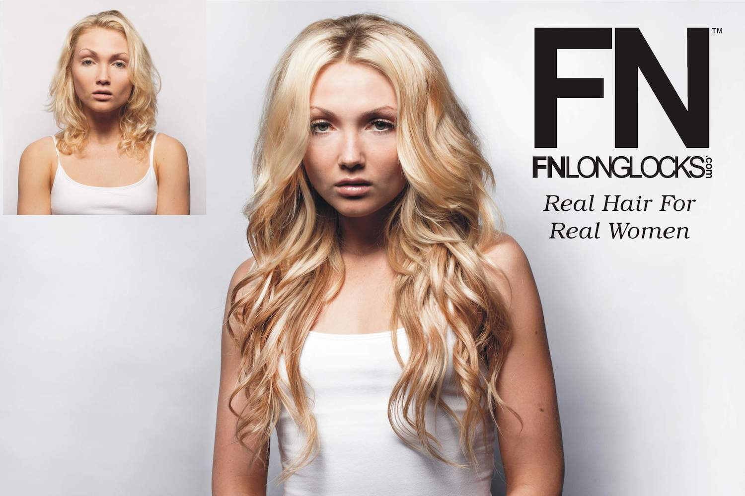 Fnll Sticker 1 Fn Longlocks 100 Remy Hair Extensions All Natural